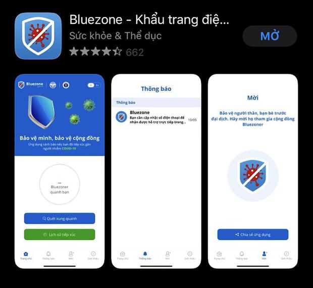 Cài ngay Bluezone - Ứng dụng giúp cảnh báo nguy cơ tiếp xúc người nhiễm Covid-19 - Ảnh 1.