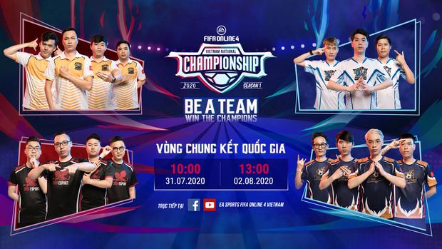 Giải vô địch quốc gia FIFA Online 4 (FVNC) chuẩn bị bước vào Vòng Chung Kết, tân vương sắp lộ diện! - Ảnh 1.