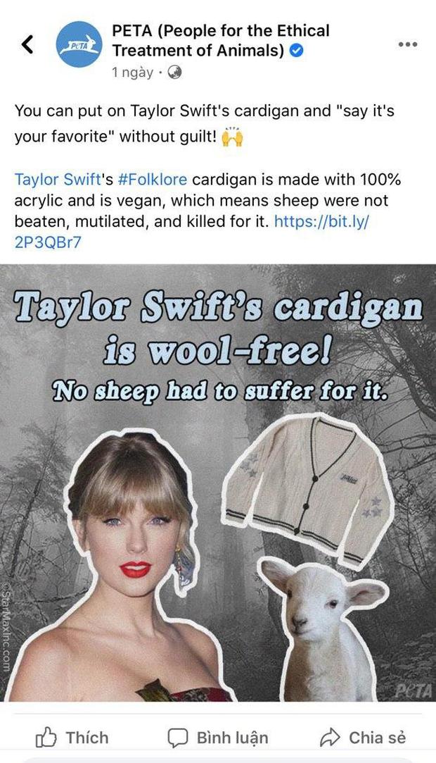 Taylor Swift tặng áo cardigan cho dàn sao Hollywood để quảng bá MV mới nhưng ý nghĩa đằng sau mới thực sự ấm lòng - Ảnh 12.