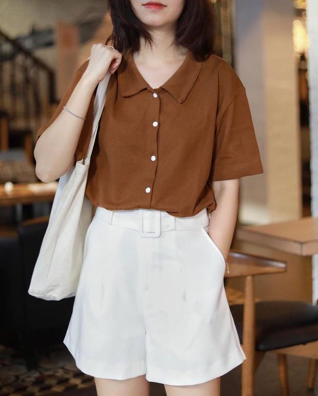 Jisoo lăng xê áo polo đơn giản nhưng diện lên cực hay ho, chị em nên vào học để cải tổ lại style - Ảnh 6.