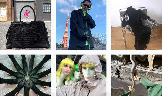 Bỗng dưng đăng hình lệch pha hẳn với style thường thấy, Balenciaga khiến fan hoang mang tột độ: Bị hack Instagram ư?  - Ảnh 2.