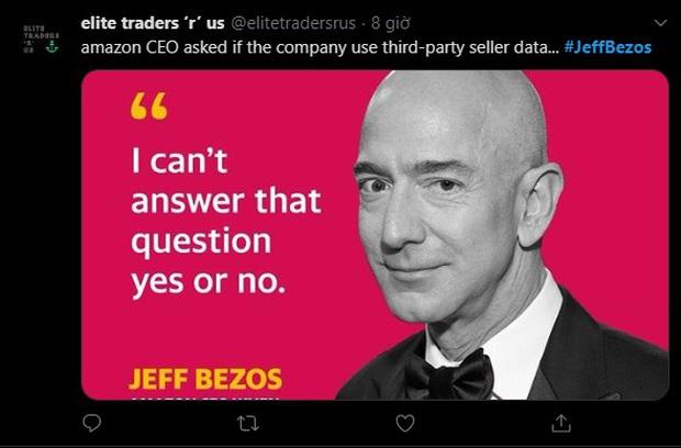 Hài hước: CEO Amazon hồn nhiên ăn bánh, uống trà trong phiên điều trần trước Quốc hội Mỹ - Ảnh 6.