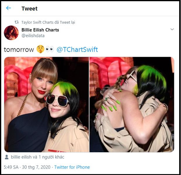 Quan hệ rộng như fan Taylor Swift: Rủ fandom hội chị em từ Billie Eilish, Miley Cyrus đến BLACKPINK để giúp stream nhạc lên #1 Billboard! - Ảnh 4.