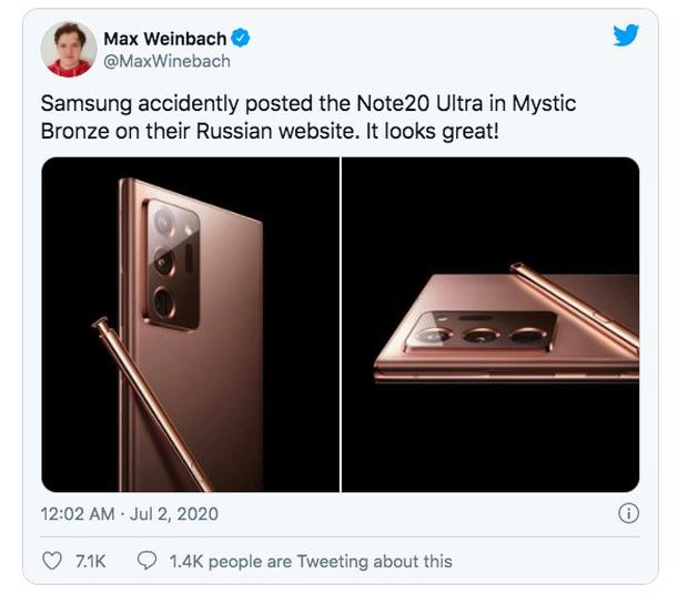 Samsung Galaxy Note 20 sẽ có giá gần 25 triệu đồng nhưng chỉ sở hữu mặt lưng nhựa lai kính? - Ảnh 1.