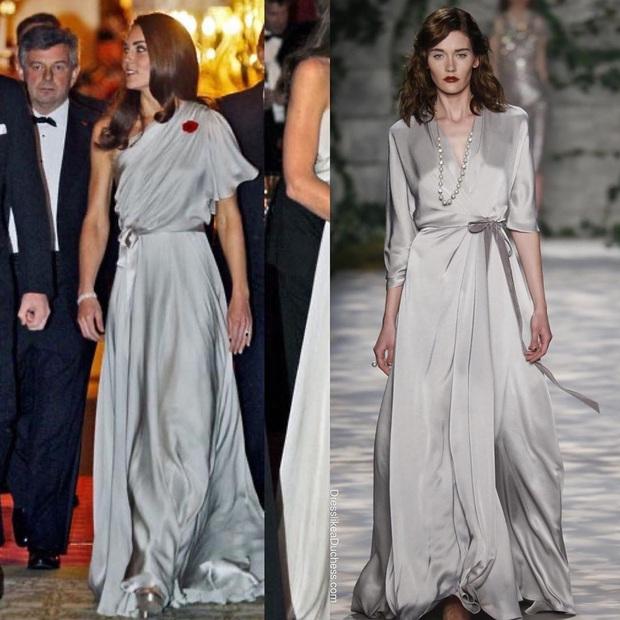 Công nương Kate bao lần diện váy còn sang hơn cả mẫu gốc: Đẳng cấp nữ hoàng tương lai là đây chứ đâu - Ảnh 2.