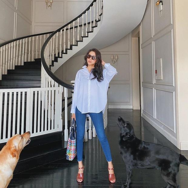 Diện quần jeans, chị em hãy học sao Việt mix với 4 kiểu giày sau là chuẩn chỉnh, còn kéo chân dài tít tắp - Ảnh 13.