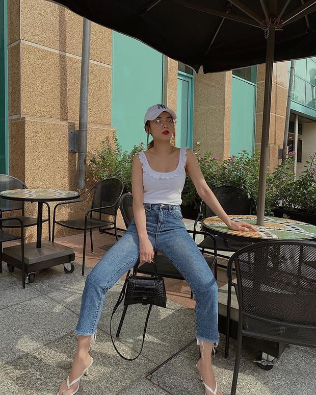 Diện quần jeans, chị em hãy học sao Việt mix với 4 kiểu giày sau là chuẩn chỉnh, còn kéo chân dài tít tắp - Ảnh 2.