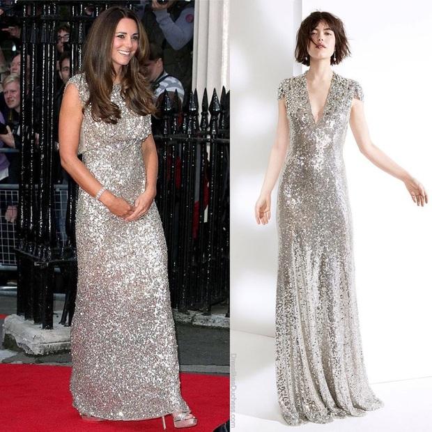 Công nương Kate bao lần diện váy còn sang hơn cả mẫu gốc: Đẳng cấp nữ hoàng tương lai là đây chứ đâu - Ảnh 5.