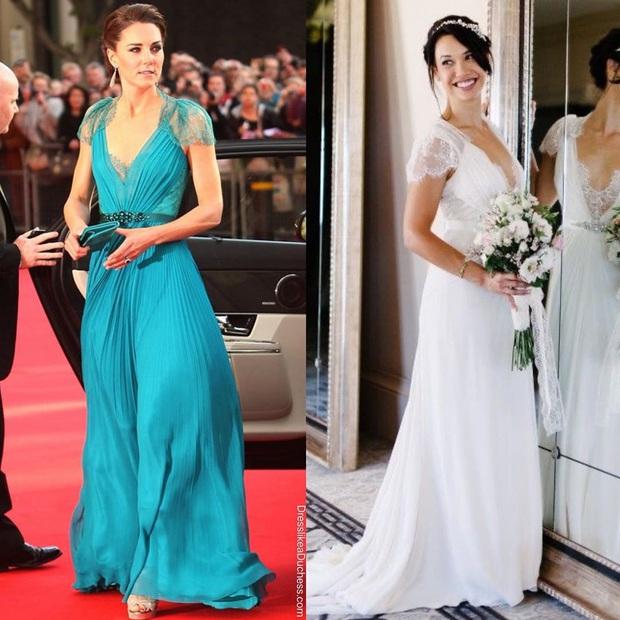 Công nương Kate bao lần diện váy còn sang hơn cả mẫu gốc: Đẳng cấp nữ hoàng tương lai là đây chứ đâu - Ảnh 7.