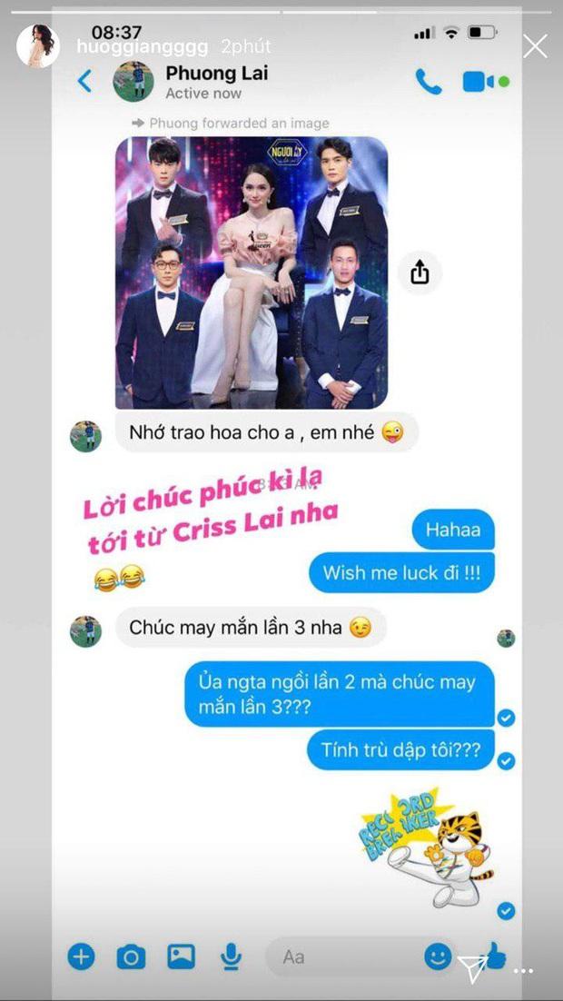Hương Giang đi tìm nam chính mới, tình cũ Criss Lai liền nhắn tin cà khịa không lệch phát nào chứng minh mối quan hệ - Ảnh 3.