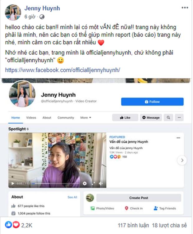 Jenny Huỳnh lại bị fake Facebook, dằn mặt bằng tài khoản thật vừa lập 3 ngày đã có 51k follow - Ảnh 1.
