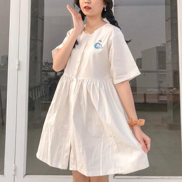 Thấp bé và béo bụng nhưng cô nàng này đã tìm ra kiểu váy hack dáng hiệu nghiệm, làm vô hình nhược điểm vòng 2 - Ảnh 6.