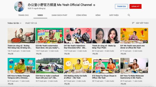 """""""Tiên nữ đồng quê"""" Lý Tử Thất, """"Thánh ăn công sở"""" Tiểu Dã và 2 YouTuber ăn uống đình đám nhất Trung Quốc hiện nay - Ảnh 8."""