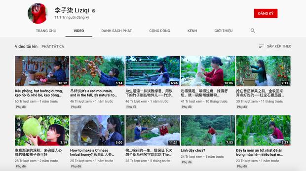 """""""Tiên nữ đồng quê"""" Lý Tử Thất, """"Thánh ăn công sở"""" Tiểu Dã và 2 YouTuber ăn uống đình đám nhất Trung Quốc hiện nay - Ảnh 4."""