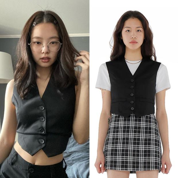 Cùng diện vest khoe eo: Jennie đơn giản sexy, Ngọc Trinh cởi khuy vẫn chẳng khiến dân tình đắm đuối cá chuối - Ảnh 4.
