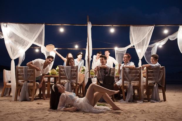Rich kid Ngọc Thanh Tâm tổ chức sinh nhật bên hội bạn thân đình đám Vbiz: Thuê hẳn resort 5 sao, cùng ăn mừng trên biển! - Ảnh 7.
