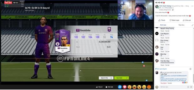 Vinh Râu FAPTV bất ngờ lấn sân làm streamer FIFA Online 4, ngay buổi đầu đã lộc lá mở cầu thủ chục tỷ! - Ảnh 6.