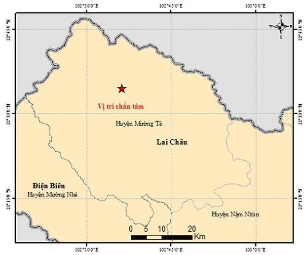 Liên tiếp 7 trận động đất ở Lai Châu trong 3 tuần - Ảnh 1.