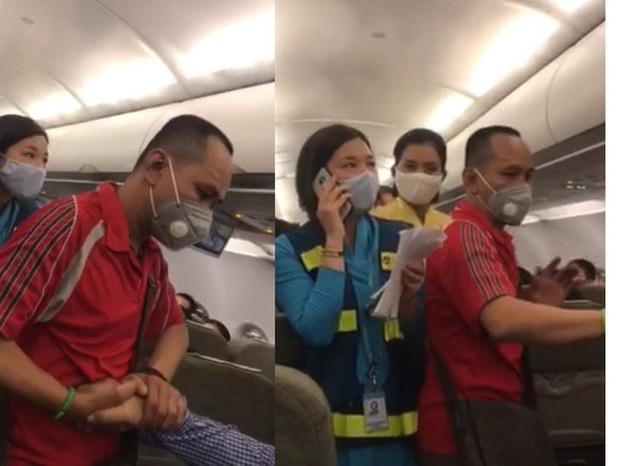 Người nói can ngăn vụ gây rối trên máy bay bị cấm bay 1 năm  - Ảnh 2.