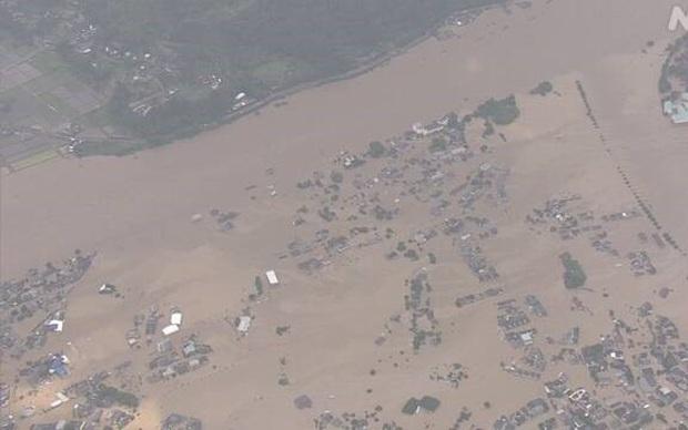 Cập nhật mưa lớn tại Nhật Bản làm hàng chục người mất tích, bị thương - Ảnh 1.