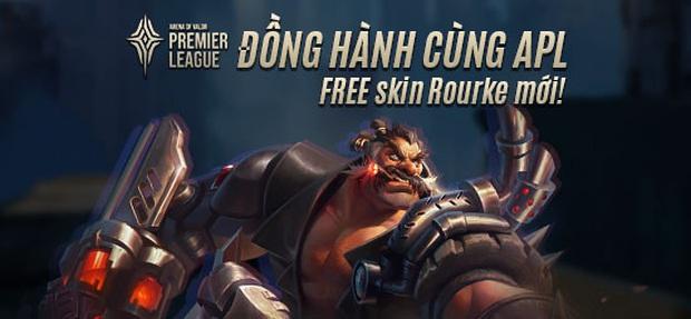 Garena chơi lớn, cho game thủ nhận miễn phí skin Rourke Cuồng Tặc khi tham gia sự kiện Đồng hành cùng APL 2020 - Ảnh 3.