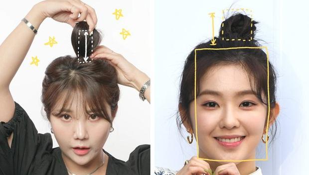 """Stylist """"bóc trần"""" bí kíp buộc tóc của Irene, bảo sao cô luôn xinh đẹp khiến dân tình ngắm mãi không chán - Ảnh 3."""