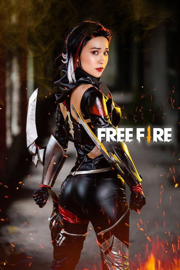 Free Fire tung bộ ảnh cosplay đậm chất điện ảnh, nhưng đường cong gợi cảm của nhân vật nữ mới là tâm điểm chú ý! - Ảnh 3.