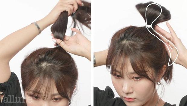 """Stylist """"bóc trần"""" bí kíp buộc tóc của Irene, bảo sao cô luôn xinh đẹp khiến dân tình ngắm mãi không chán - Ảnh 4."""