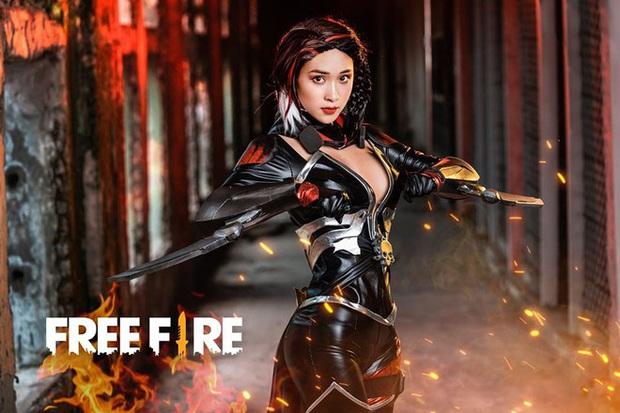 Free Fire tung bộ ảnh cosplay đậm chất điện ảnh, nhưng đường cong gợi cảm của nhân vật nữ mới là tâm điểm chú ý! - Ảnh 5.