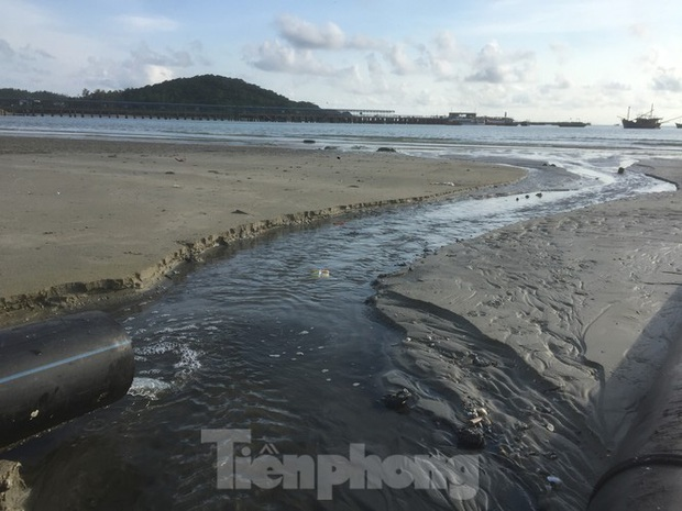 Xe dán tên công ty môi trường đổ trộm chất thải ở đảo ngọc Cô Tô - Ảnh 6.