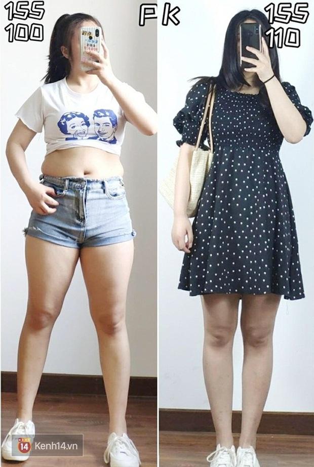 Thấp bé và béo bụng nhưng cô nàng này đã tìm ra kiểu váy hack dáng hiệu nghiệm, làm vô hình nhược điểm vòng 2 - Ảnh 1.
