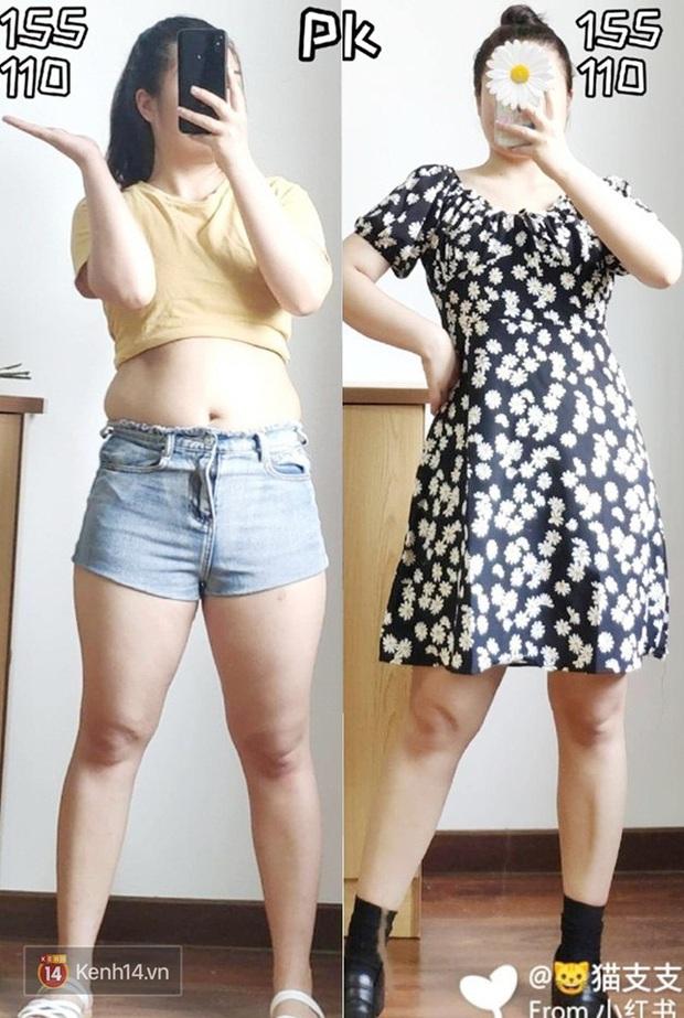 Thấp bé và béo bụng nhưng cô nàng này đã tìm ra kiểu váy hack dáng hiệu nghiệm, làm vô hình nhược điểm vòng 2 - Ảnh 3.