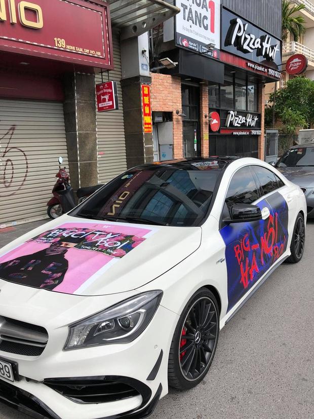 Fan Binz chơi lớn quá: Phủ kín poster lên hàng loạt siêu xe lượn quanh Hà Nội hâm nóng trước thềm ra MV - Ảnh 11.