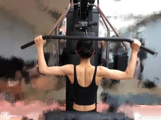 Bất ngờ với cách giảm cân của 4 sao Hoa Ngữ đình đám: Tần Lam hóp bụng liên tục, Triệu Lệ Dĩnh tập gym lên cả cơ bắp - Ảnh 3.
