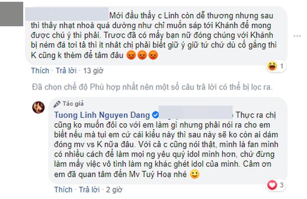 K-ICM phải sửa lại MV sau loạt lùm xùm, Hoa hậu Tường Linh khẳng định sẽ không ai dám đóng MV với Khánh nữa vì fan K-ICM quá toxic? - Ảnh 1.