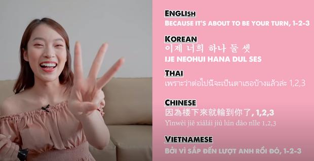 Dịch vèo vèo bài hit Do You Like That (BLACKPINK) ra 5 thứ tiếng, Khánh Vy được dân tình khen ngợi hết lời - Ảnh 9.
