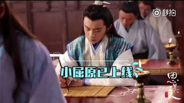 Cười mệt với hậu trường cảnh viết thư pháp của dàn sao Cbiz: Trùm vẽ bậy gọi tên Lâm Canh Tân! - Ảnh 7.