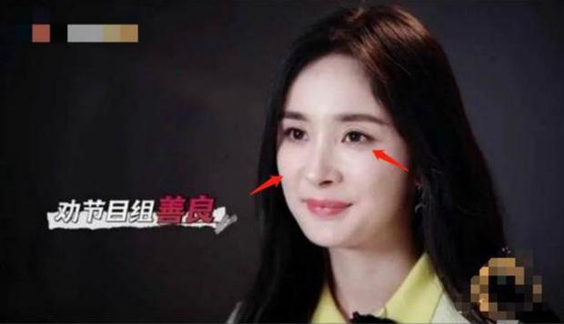Dương Mịch lộ rõ dấu hiệu lão hoá không thể chối cãi, khác xa ảnh PTS khi xuất hiện trên sóng truyền hình - Ảnh 3.