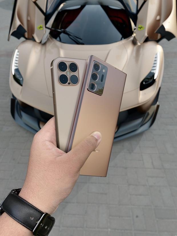 Lộ concept iPhone 12 và Samsung Galaxy Note 20 Ultra đẹp nhức nhối - Ảnh 1.