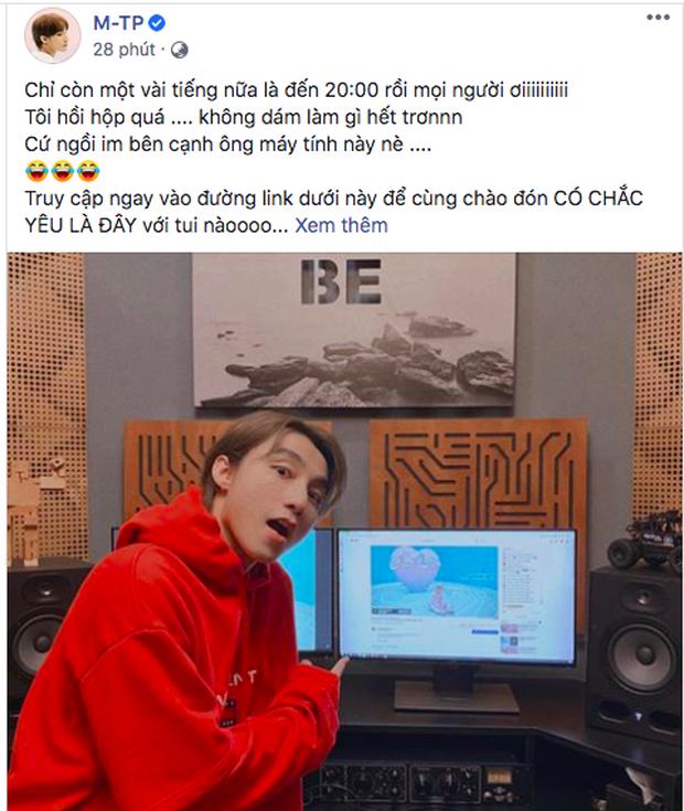 Sát giờ G, Sơn Tùng M-TP không chịu canh MV Có Chắc Yêu Là Đây mà lại chuyển sang stream MV của BLACKPINK và Thiều Bảo Trâm rồi? - Ảnh 1.