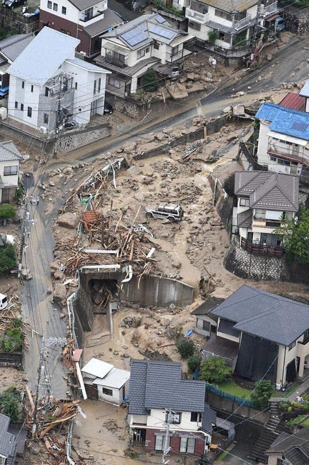 Số người thiệt mạng, mất tích do mưa lũ tại Nhật Bản tăng nhanh  - Ảnh 1.
