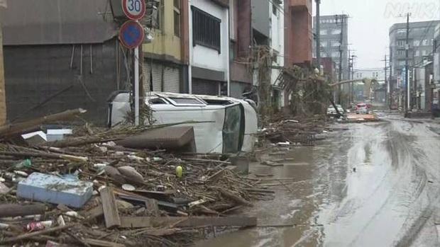 Số người thiệt mạng, mất tích do mưa lũ tại Nhật Bản tăng nhanh  - Ảnh 2.