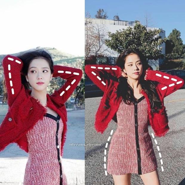 14 chiêu tạo dáng giúp Jisoo có hình sống ảo rất xinh mà không sợ nhàm, chị em copy thì chụp tấm nào ăn tấm đó - Ảnh 1.