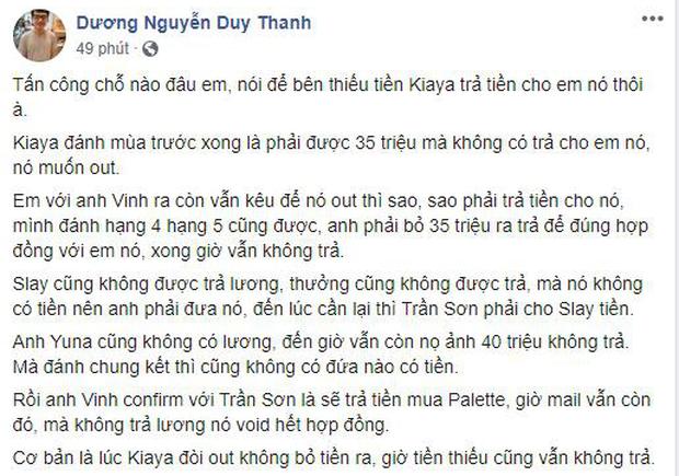Quyết chiến trên Facebook, Tinikun tung đòn liên hoàn phốt dằn mặt  giám đốc Khánh Hiệp Izumin - Ảnh 2.