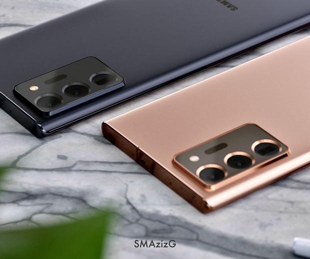 Lộ concept iPhone 12 và Samsung Galaxy Note 20 Ultra đẹp nhức nhối - Ảnh 4.