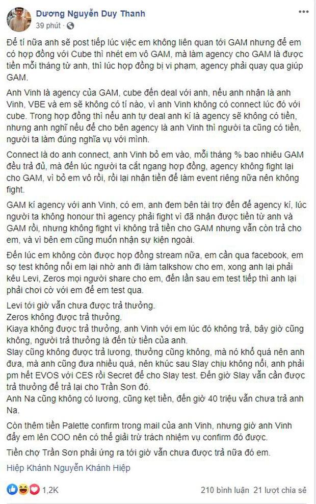 Quyết chiến trên Facebook, Tinikun tung đòn liên hoàn phốt dằn mặt  giám đốc Khánh Hiệp Izumin - Ảnh 3.