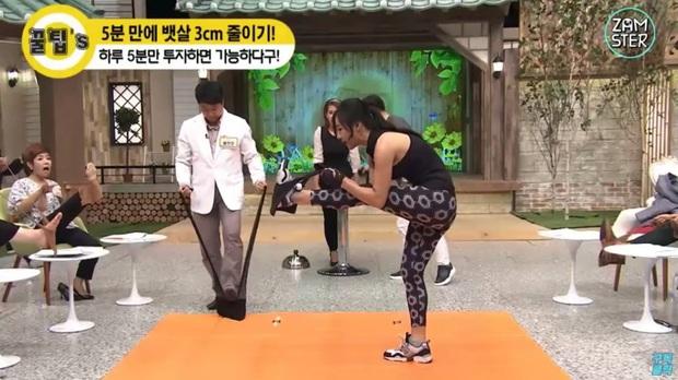 Đài Chosun Hàn Quốc chia sẻ bài tập chỉ mất có 5 phút thực hành đã có thể giảm được tới 3cm vòng eo - Ảnh 5.