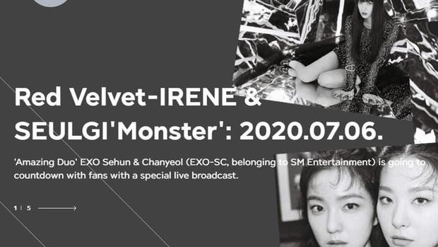 Fan phẫn nộ vì SM lại hoãn MV của IRENE & SEULGI mà không thông báo 1 lời, ghi sai tên thành… EXO-SC khi giới thiệu trên trang chủ - Ảnh 6.