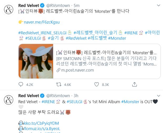 Fan phẫn nộ vì SM lại hoãn MV của IRENE & SEULGI mà không thông báo 1 lời, ghi sai tên thành… EXO-SC khi giới thiệu trên trang chủ - Ảnh 7.