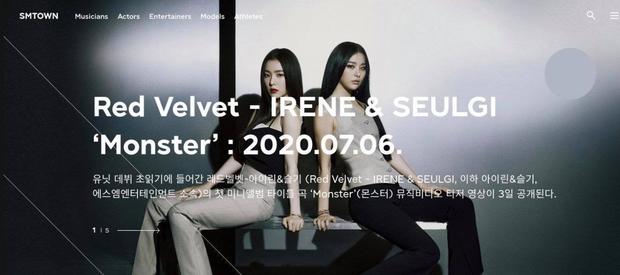 Fan phẫn nộ vì SM lại hoãn MV của IRENE & SEULGI mà không thông báo 1 lời, ghi sai tên thành… EXO-SC khi giới thiệu trên trang chủ - Ảnh 4.